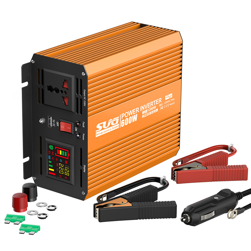 SGP-E 600W Pure Sine Wave Inverter With Digital Display