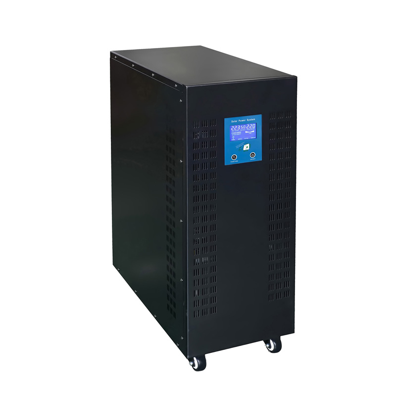 LCD Display SGN 15KW 192VDC Low Frequency Power Inverter